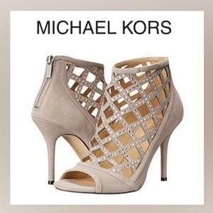 Michael Kors Yvonne Peep Toe Bootie
